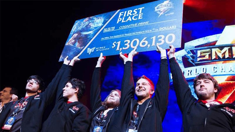 Winners of the Smite eSports World Championship