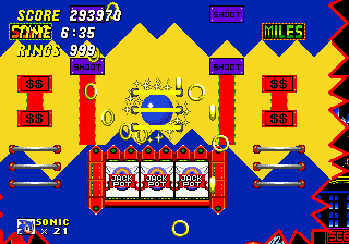 Sonic the Hedgehog 2 Casino Night Zone