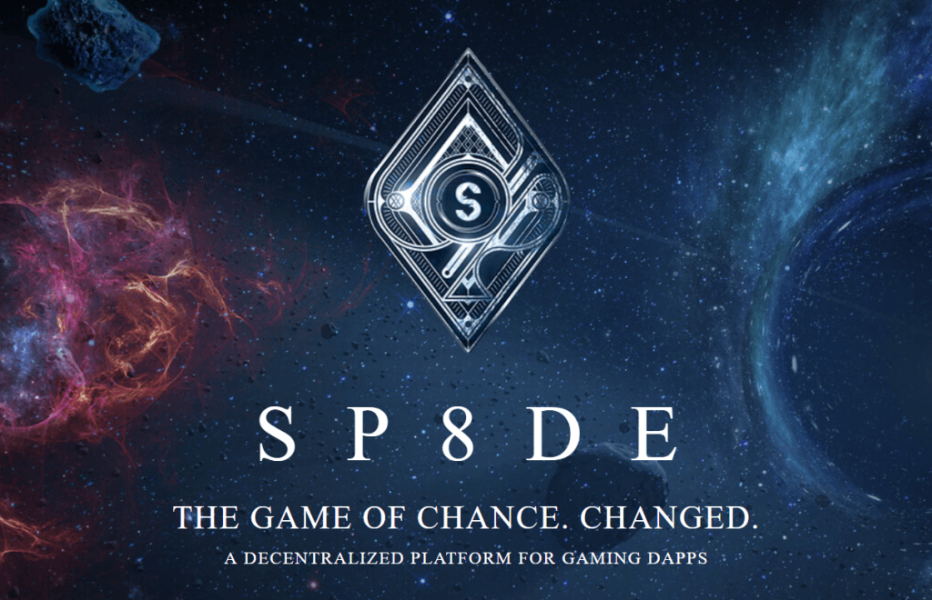The Sp8de logo for it's new technology platform