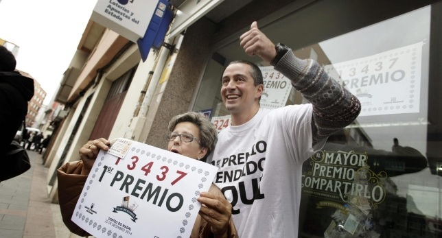 Spanish lottery winners