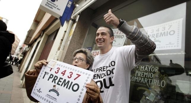 Spanish lottery winners