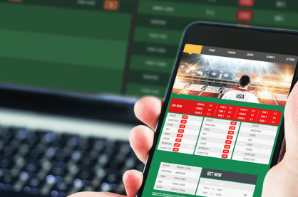 Sports betting app to place your accumulators