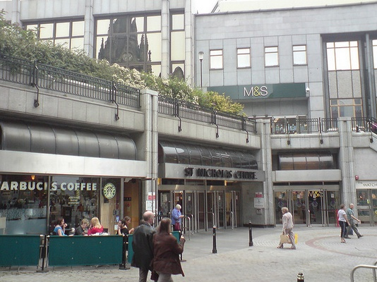 A photo of St Nicholas Centre in Aberdeen