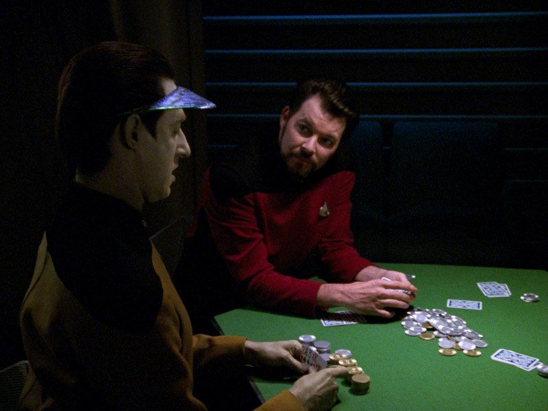 An image of two Start Trek characters playing poker
