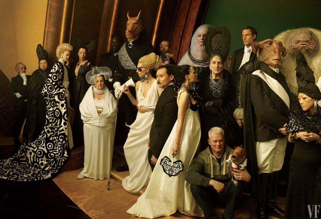 An image of Star Wars creations