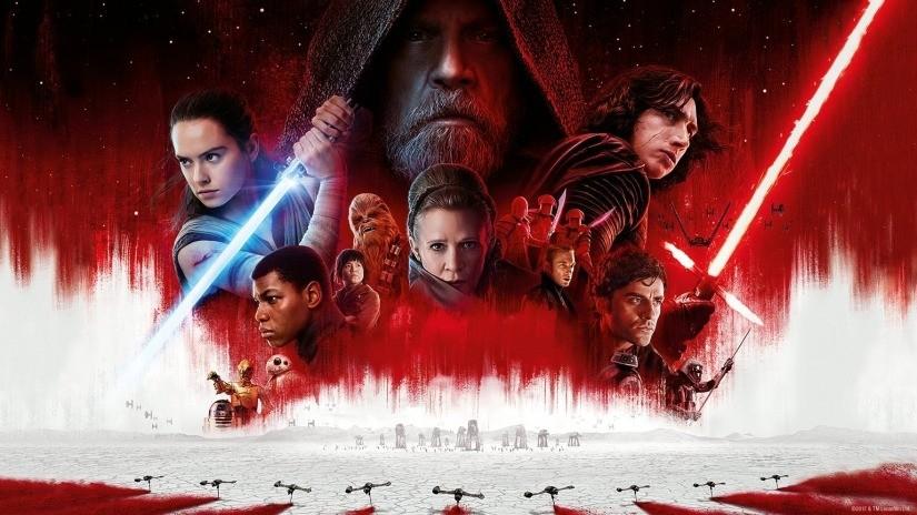 Star Wars The Last Jedi DVD cover