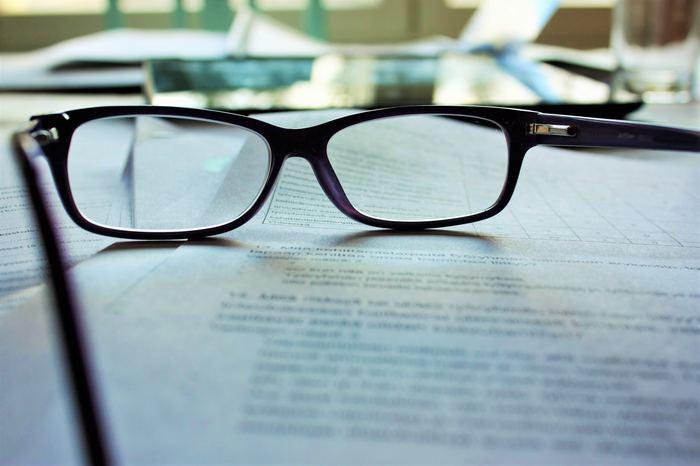 Insurance statistics being analysed