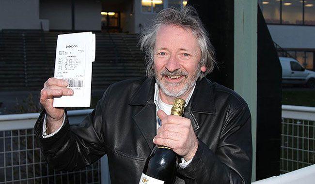 Steve Whiteley, winner of £1.45m from a £2 stake