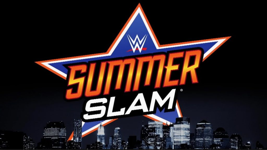 The logo for the WWE SummerSlam event