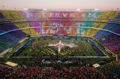 Live music at the Super Bowl half-time show