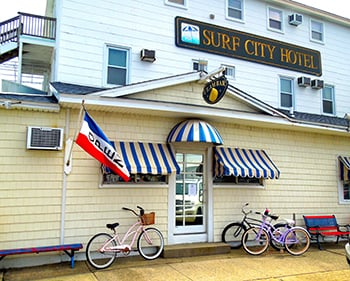 The Surf City Hotel situated in Atlantic City