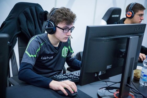 An image of a member from Team Liquid, a successful eSports organisation