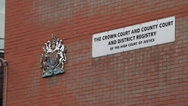 The Crown Court, responsible for the man's punishment