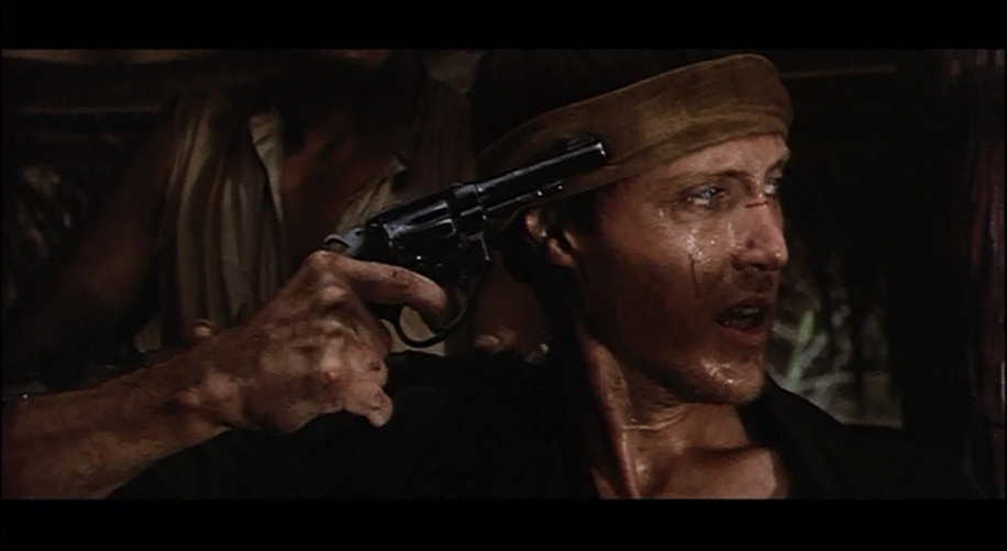 A scene from the 1978 war film, The Deer Hunter