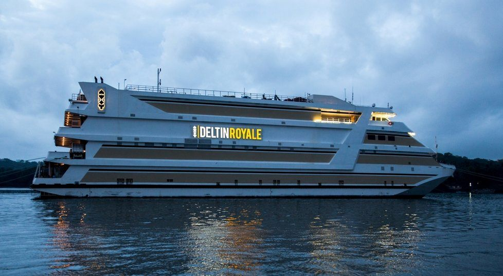 he Deltin Royale Cruise Ship