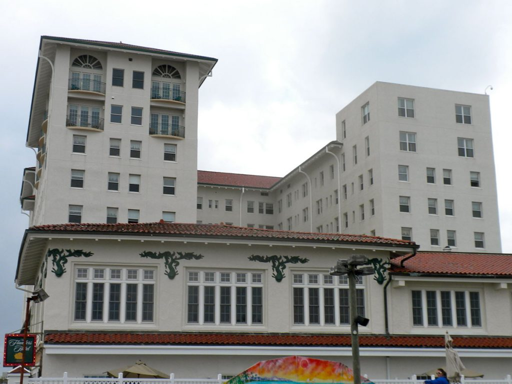 The Flanders Hotel, notorious for being haunted