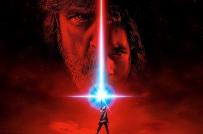 A key image from Star Wars: The Last Jedi