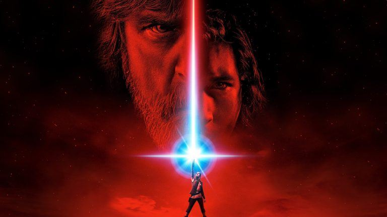 A key image from Star Wars: The Last Jedi