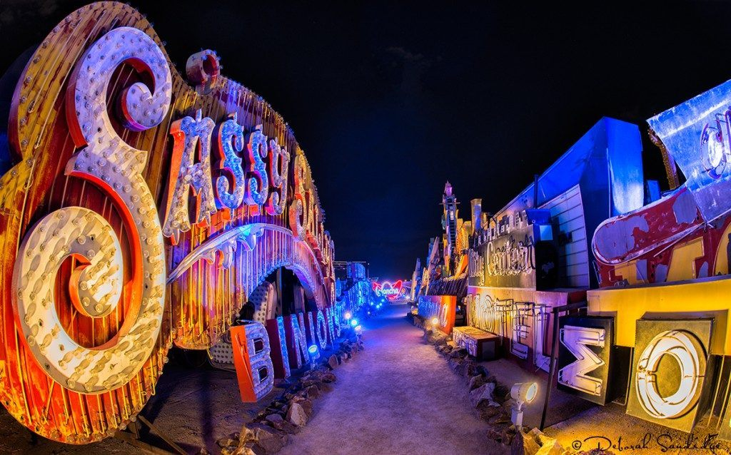 Inside the Neon Museum in Las Vegas