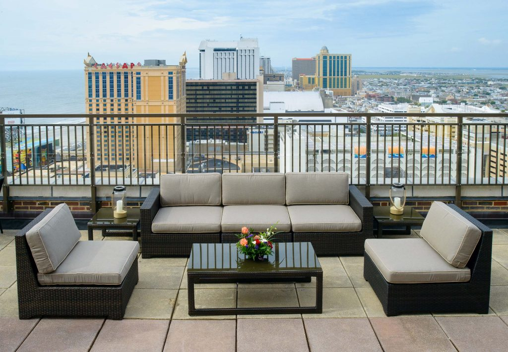 The VUE Rooftop Lounge Bar in Atlantic City