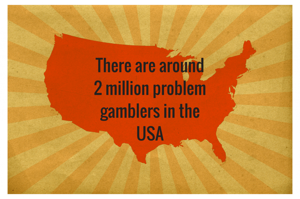 how many problem gamblers there are in the USA