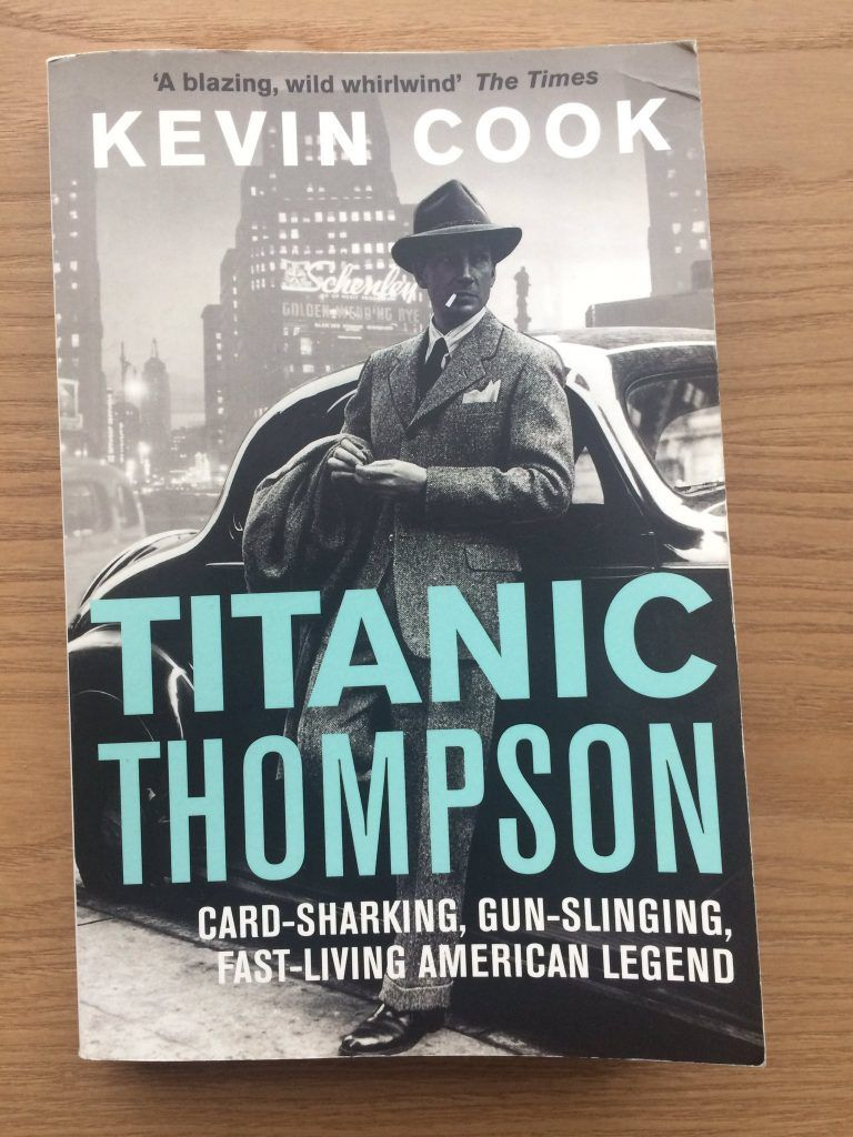 Titanic Thompson book by Kevin Cook