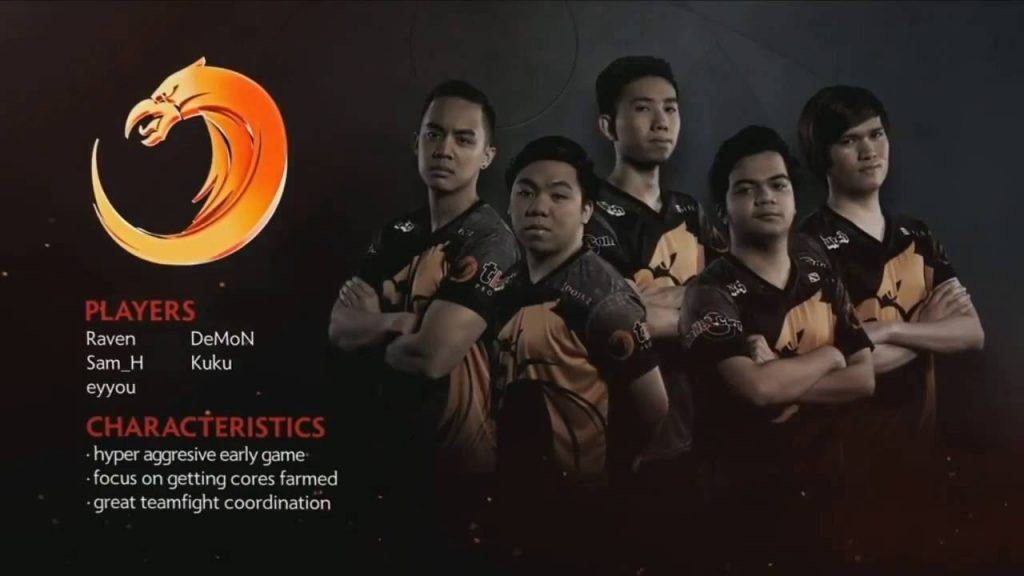 TnC, a professional eSports team