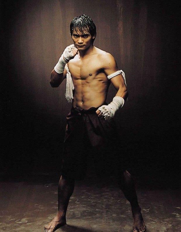 famous muay thai boxer Tony Jaa