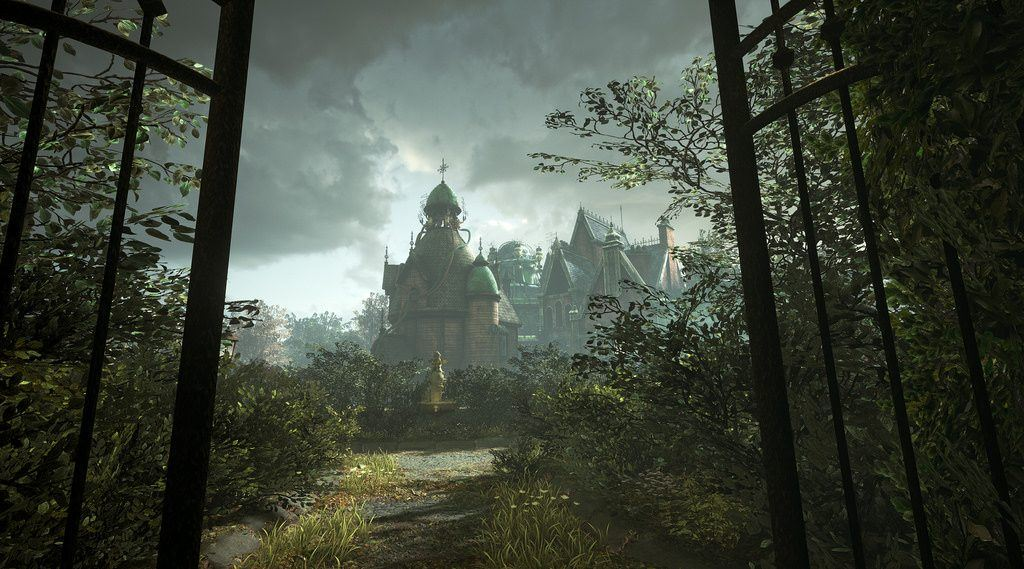 An in-game shot of the Torn VR Playstation game