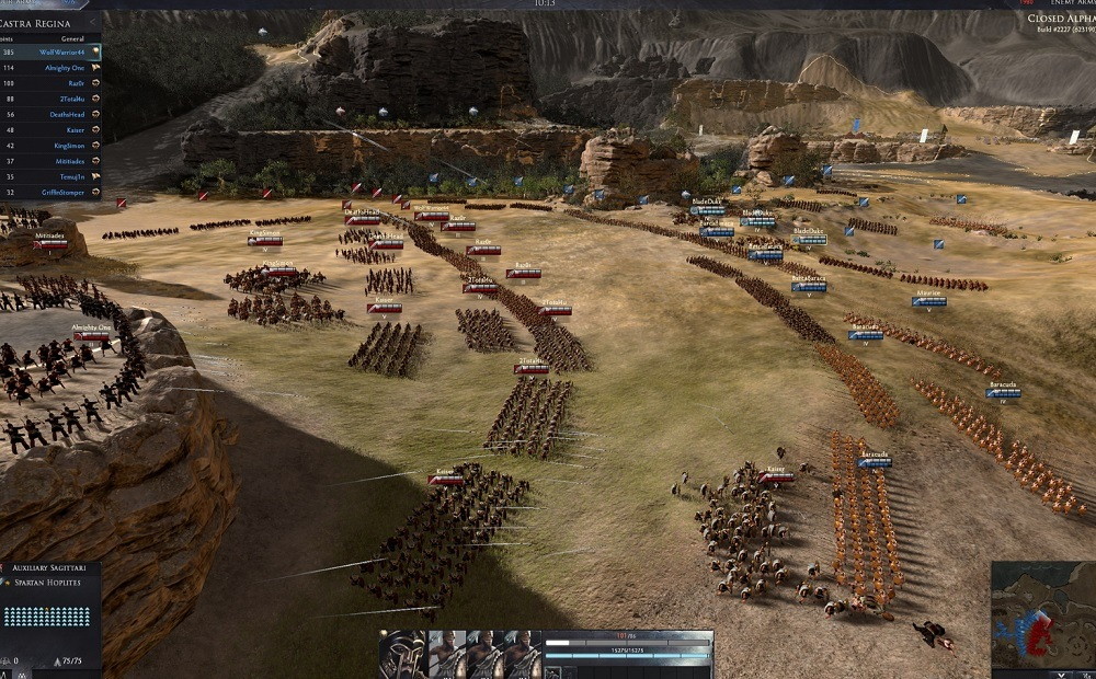 Total War: Arena combat collisions