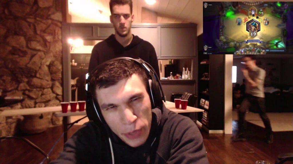 Online gaming streamer Trainwrecks