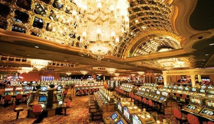 As only Trump can do, glamour, crystal, bigger than life and adorned with a spectacular show that exemplifies Atlantic City.