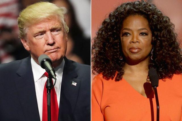 Donald Trump vs Oprah Winfrey