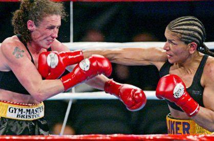 Lucia Rijker boxing