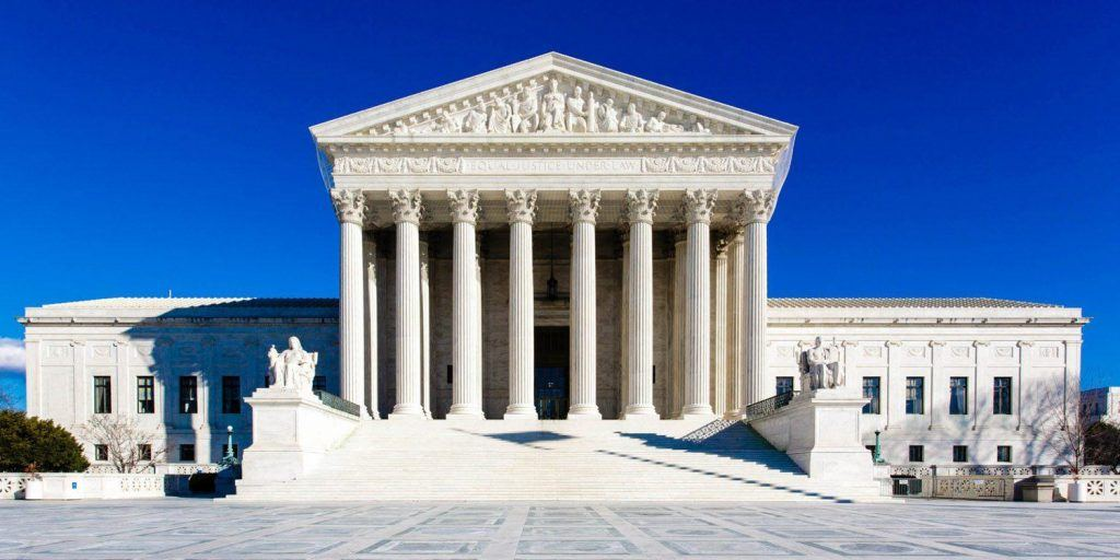 An image of the US Supreme Court
