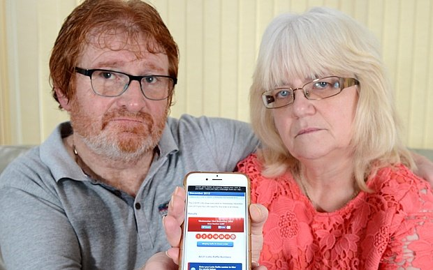 The couple that miss out on £35m Lotto jackpot due to an unregistered ticket