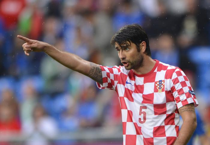 Vedran Corluka is in the Croatia squad for the 2018 World Cup