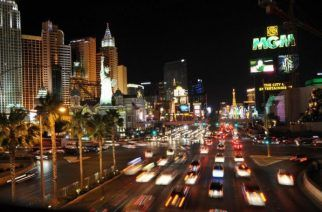 """""""Despite its problems, Las Vegas remains one of the hottest holiday destinations in the world."""" (Image: AFP/Joe Klamar)"""