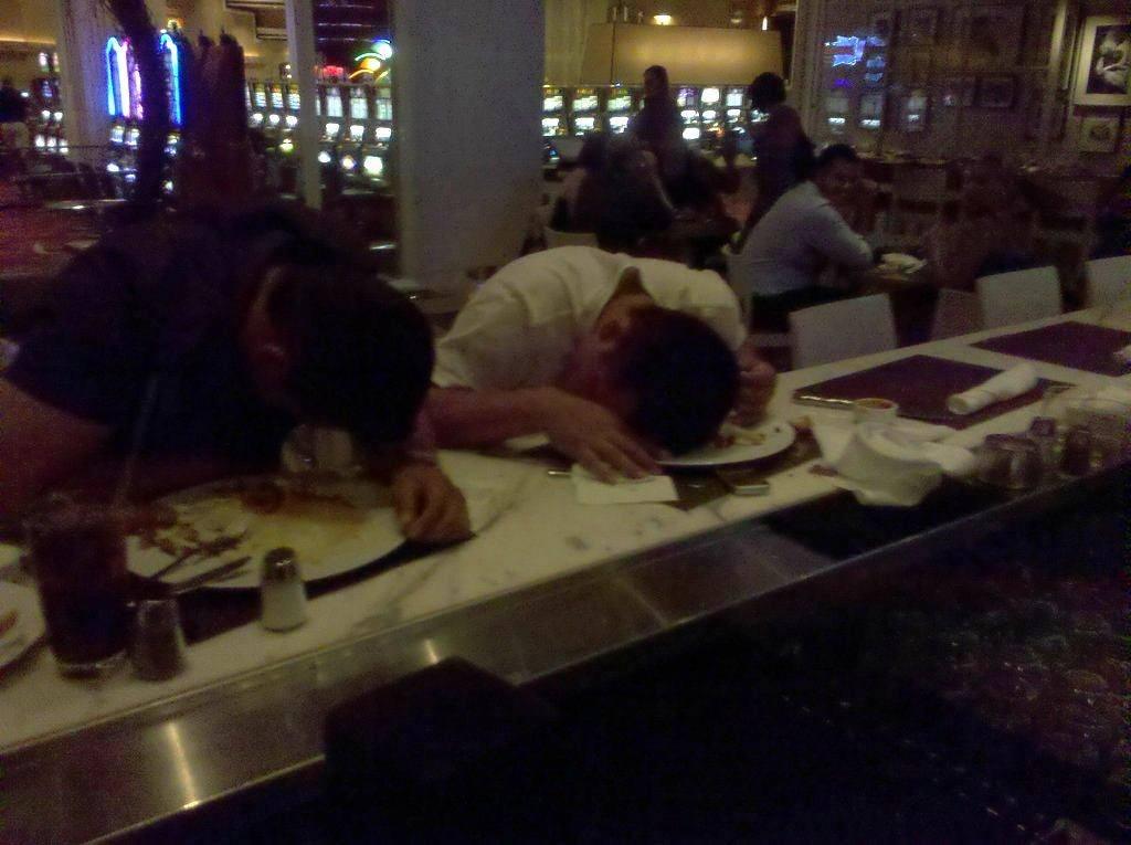 Drunk Las Vegas casino workers
