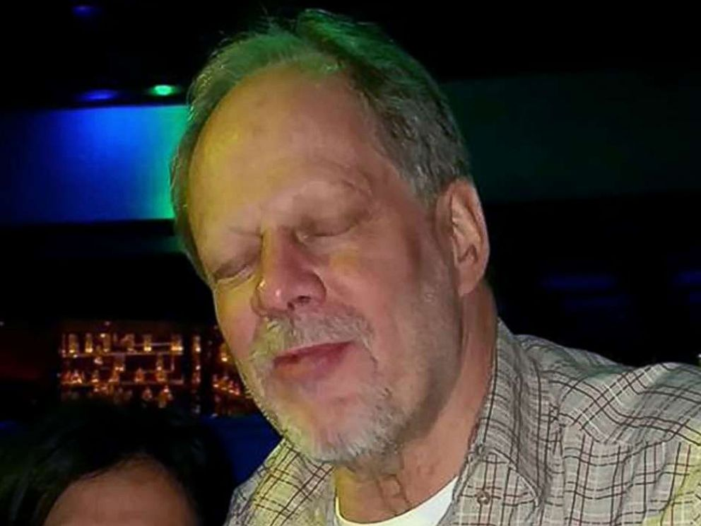 A photo of the Vegas shooter