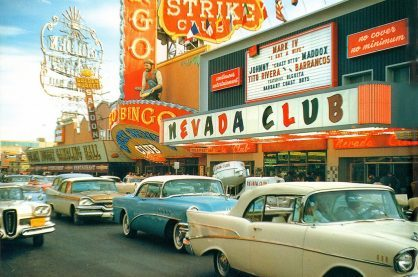 The Las Vegas scene from back in the day