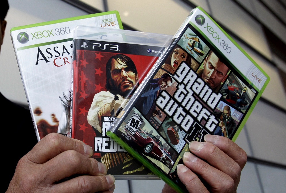 Three of the more commonly known violent video games