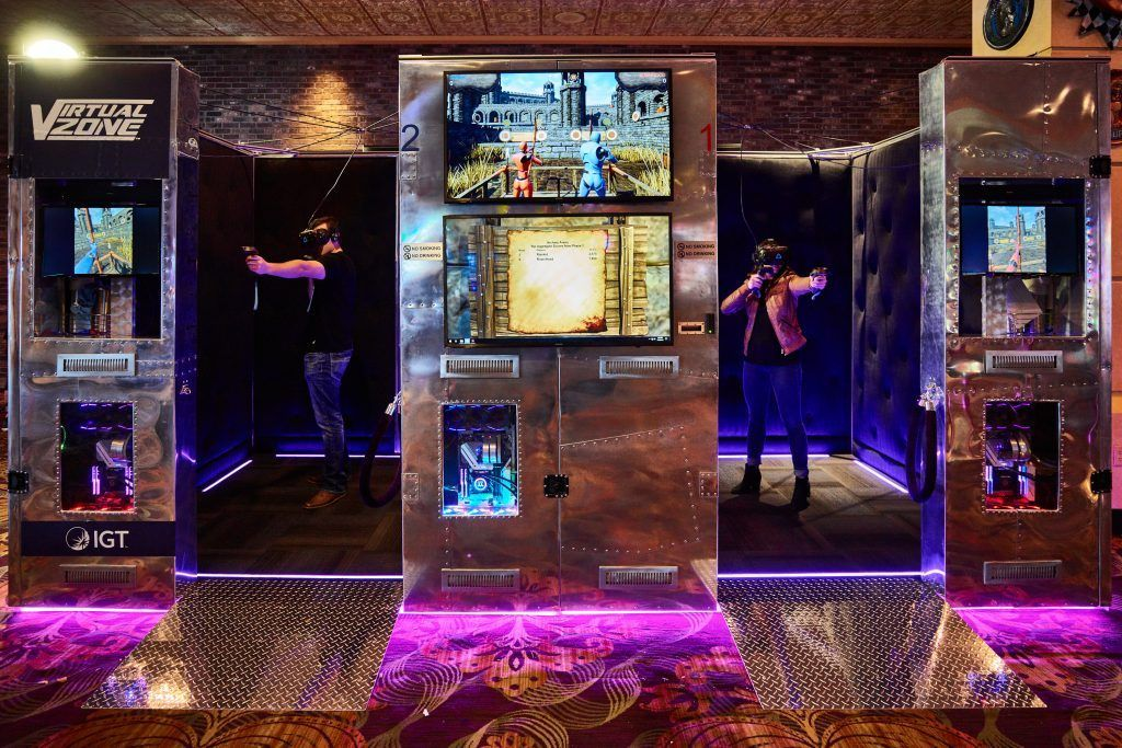The Virtual Zone at the Orleans Hotel and Casino