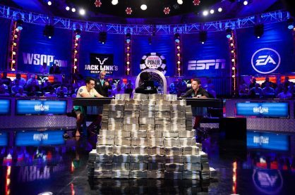 Live shot of the WSOP One Drop event