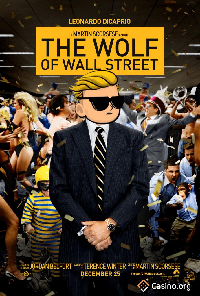 GameStop meme - Wolf of Wall Street