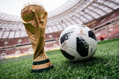 The World Cup trophy is on the way to Russia in 2018