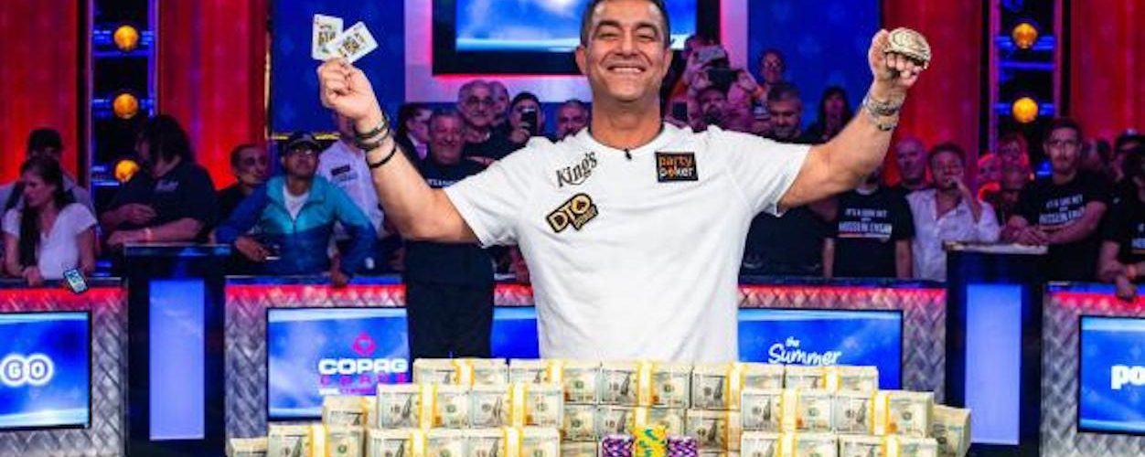 Hossein Ensan 2019 WSOP