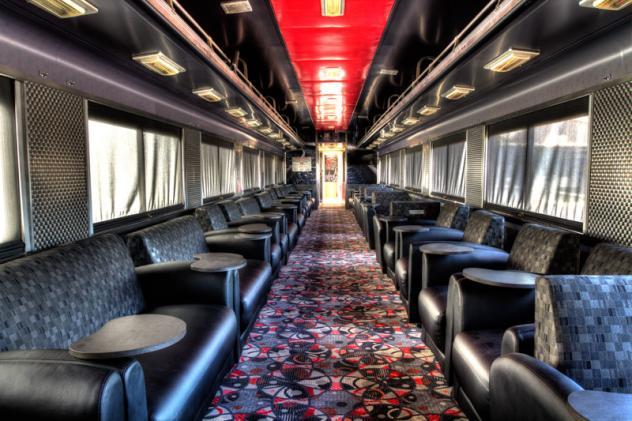 The X-Train Casino in Las Vegas