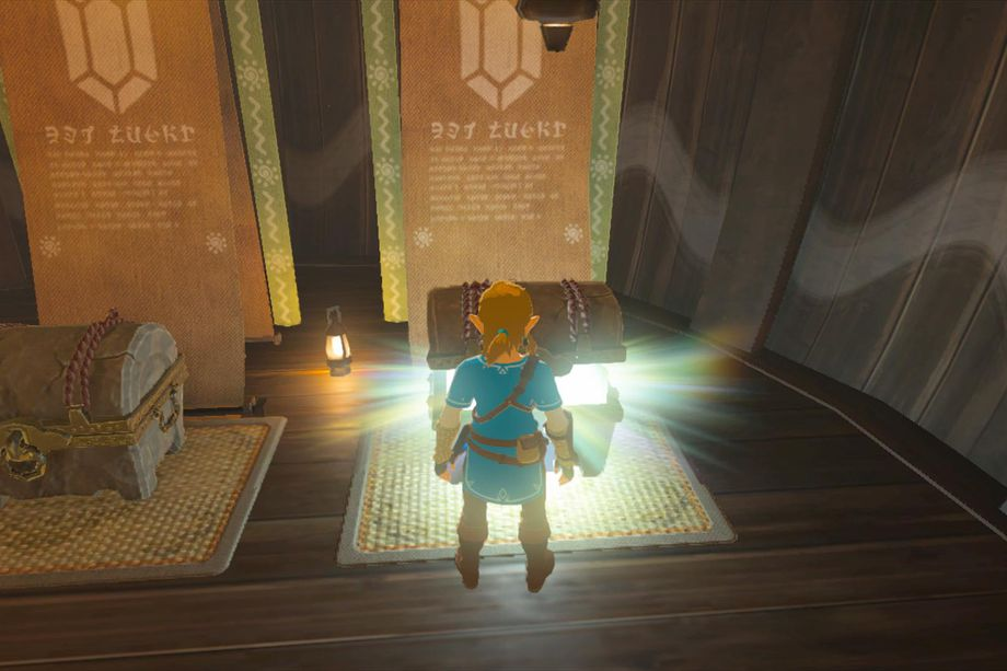 Action from the Zelda gameplay walkthrough