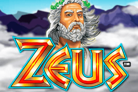 The logo of the Zeus slot machine
